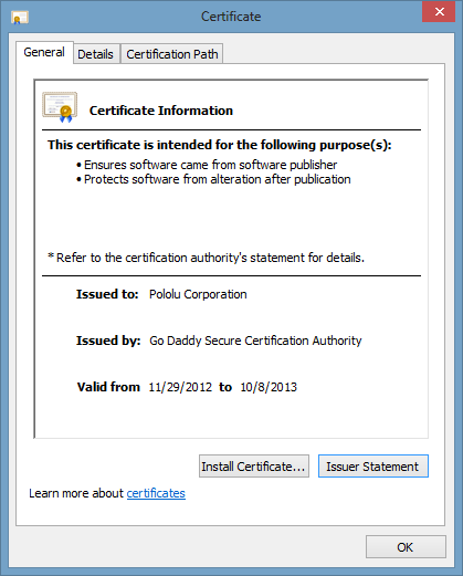 verisign code signing certificate With verisign document signing
